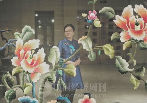 p82-依文集团董事长、依文·中国手工坊创始人夏华《中国经济周刊》首席摄影记者 肖翊 摄