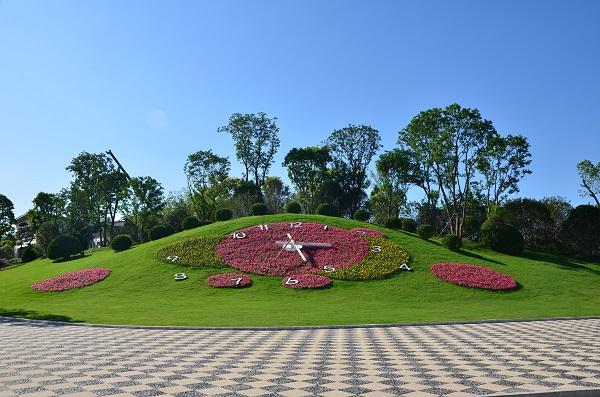 2,扬州市蜀冈-瘦西湖风景名胜区打造的花都汇