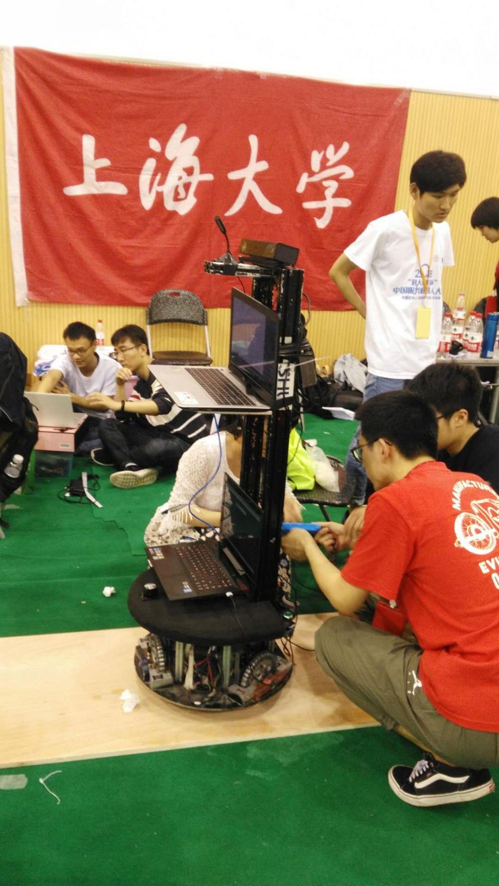 上海大学陈万米老师参赛队