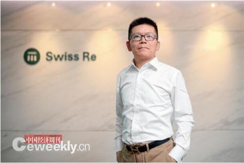 27 瑞士再保险中国总裁陈东辉《中国经济周刊》首席摄影记者 肖翊 摄
