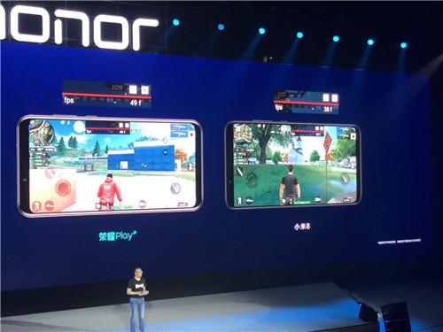 GPU Turbo革命性图形处理加速技术使得荣耀Play的游戏体验大幅提升