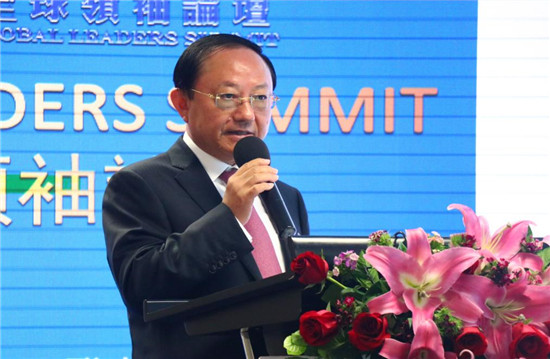 (亚太经济领袖联合会主席 Lawrence Yu致辞)