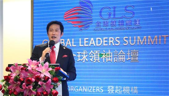 (WOGC金融委员会副主席Mark Huang致辞)