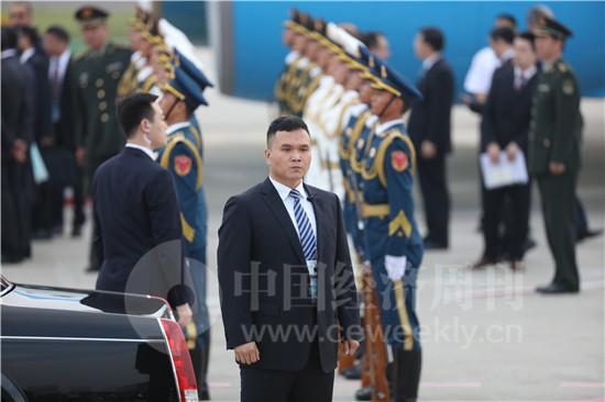 接机乌兹别克斯坦总统4