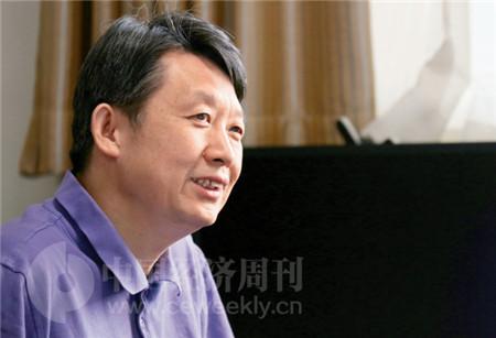 P55   国务院发展研究中心副主任隆国强接受《中国经济周刊》记者专访 (《中国经济周刊》记者 胡巍 I 摄)