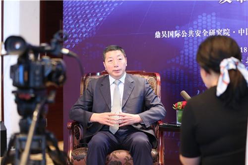 中坤鼎昊总经理金桂岭接受媒体采访