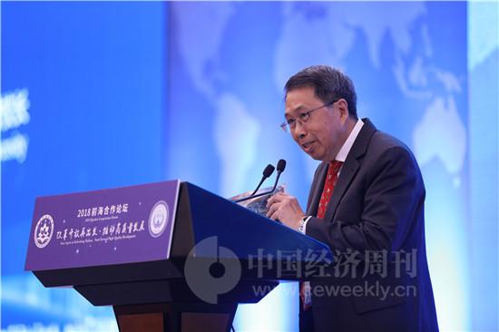 新加坡南洋理工大学终身荣誉校长徐冠林
