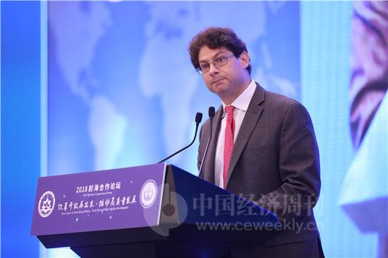 美国布鲁金斯学会市场及监管中心政策主任、原奥巴马政府金融和基础设施顾问亚伦•克莱因(Aaron Klein)