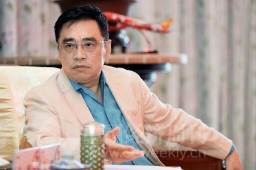 p36-海航集团有限公司联合创始人、董事长王健-《中国经济周刊》首席摄影记者  肖翊 摄