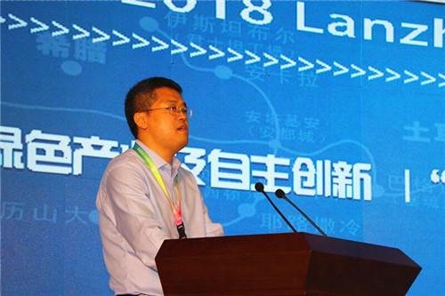 兰州大学常务副书记吴国生致辞。摄影 李开南