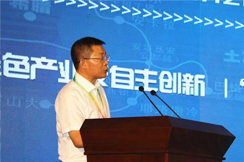 兰州市长张伟文主持开幕式。摄影 李开南