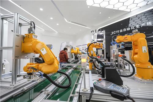 邵东智能制造技术研究院3C行业自动化生产线