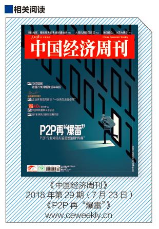 """63 《中国经济周刊》2018 年第29 期(7 月23 日)《P2P 再""""爆雷""""》"""