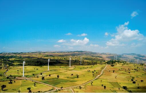 24 埃塞俄比亚阿达玛二期风电EPC项目 图片来源:中国电建