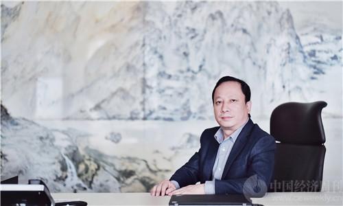 肖翊拍摄 千方科技董事长夏曙东