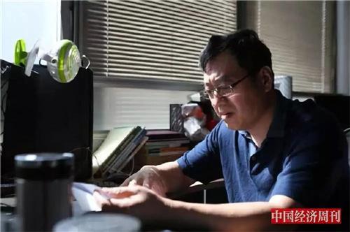 2018年9月23日,即海淀区检察院撤诉后的第三天,付林和曲燕在清华园接受《中国经济周刊》专访。(《中国经济周刊》记者 胡巍I 摄)