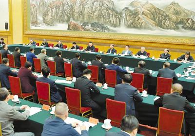 11月1日,中共中央总书记、国家主席、中央军委主席习近平在北京人民大会堂主持召开民营企业座谈会并发表重要讲话。