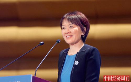 26-1 人民日报社副总编辑卢新宁在论坛现场