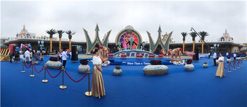 上海海昌海洋公园开园仪式现场(宋杰 摄)