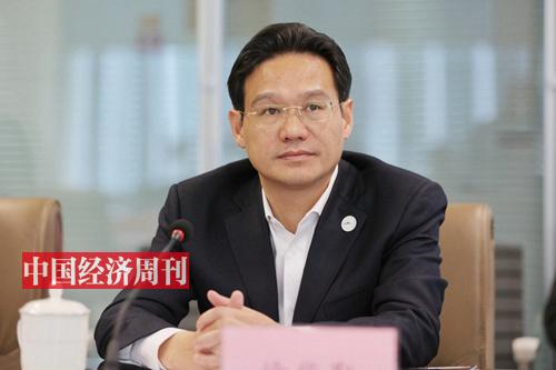 江苏省溧阳市委副书记、市长 徐华勤 (《中国经济周刊》首席摄影记者 肖翊 摄)
