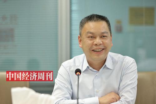 四川省乐至县委副书记 刘建华 (《中国经济周刊》首席摄影记者 肖翊 摄)