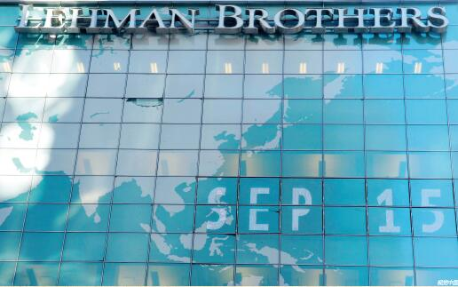 p34 2008年9月15日,美国知名投行雷曼兄弟公司申请破产。 视觉中国