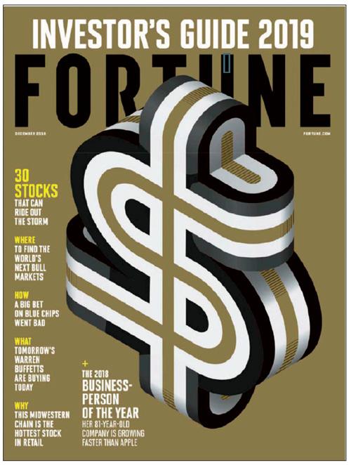 14 美国《财富》杂志2018 年12 月