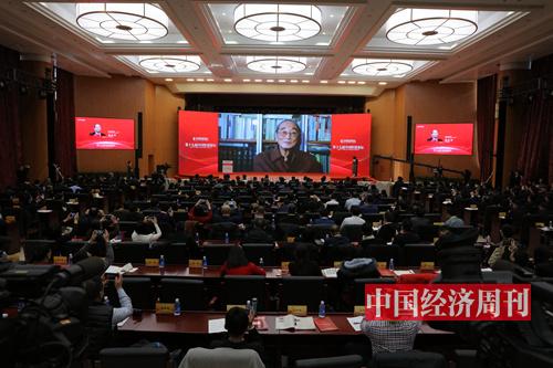厉以宁(《中国经济周刊》首席摄影记者 肖翊 摄)2 (2)