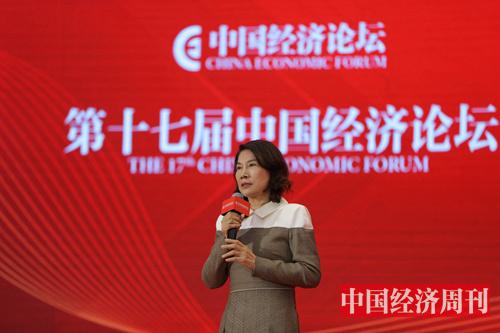 董明珠 (《中国经济周刊》首席摄影记者 肖翊 摄)2