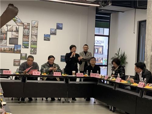 杨浦区人民政府商务委员会副主任孟红雨(宋杰摄影)