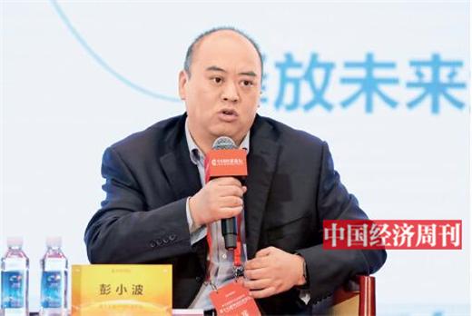 """p76 彭小波在第十七届中国经济论坛上参加""""军民融合催生自主核心技术""""高端对话"""