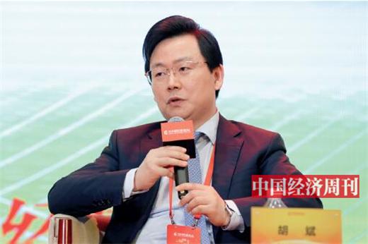 "p94 胡斌在第十七届中国经济论坛上参加""做好金融服务实体经济这篇大文章""高端对话"
