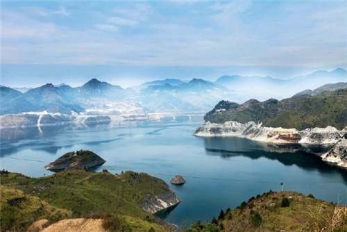 p78-麗水千峽湖供圖:麗水日報