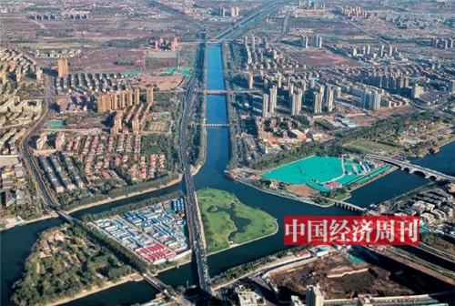 p83-北京城市副中心的建设被认为是京津冀协同发展的重要步骤。图为北京通州核心区。《中国经济周刊》首席摄影记者 肖翊 摄影_副本