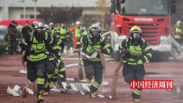影像 | 北京消防總隊練兵大比武