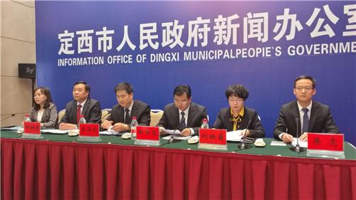 出席发布会的相关领导。摄影李开南