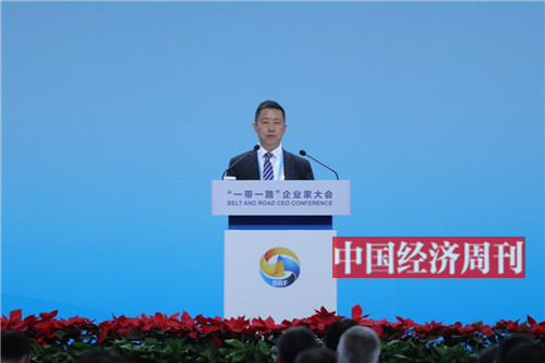 红豆集团董事局主席兼首席执行官周海江发言