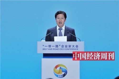 全国政协副主席、全国工商联主席高云龙致辞