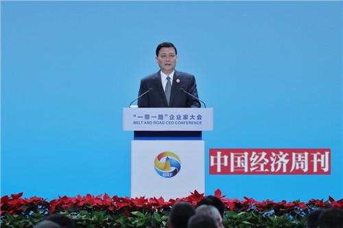 国务院国资委主任肖亚庆致辞