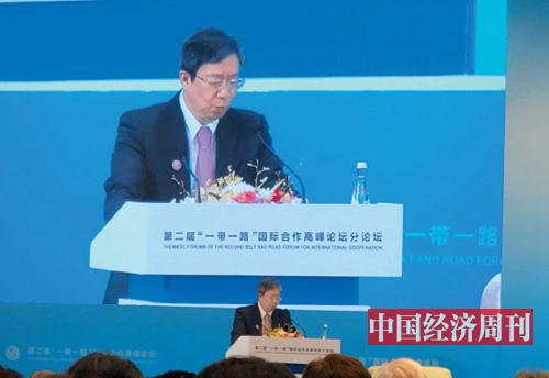 28-1 中国人民银行行长易纲 《中国经济周刊》记者 孙冰 摄