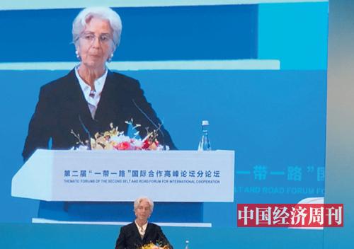 28-4 IMF 总裁拉加德 《中国经济周刊》记者 孙冰 摄