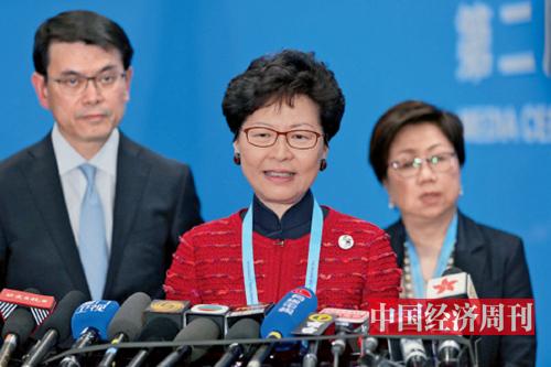 28-3 香港特别行政区行政长官林郑月娥 《中国经济周刊》首席摄影记者 肖翊 摄