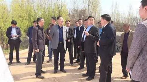 3洛阳市委副书记、市长刘宛康到黄河孟津段巡河