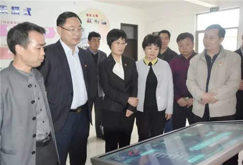 4洛阳市委常委、宣传部长王飞到孟津县平乐村牡丹文化创意园区调研