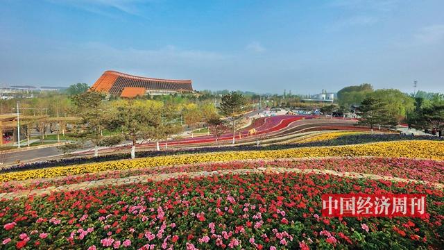 北京世园会开园| 生态花车、植物界的