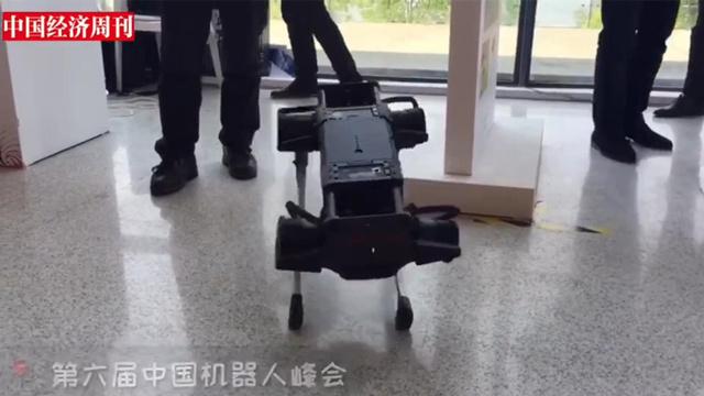 视频|会扭、会互动、可穿戴……打卡第六届中国机器人峰会