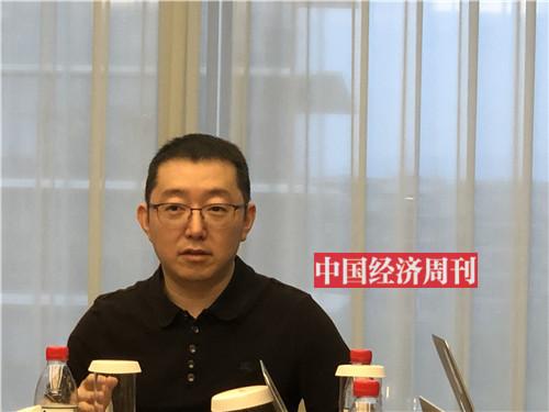 王磊接受采访(孙冰摄)