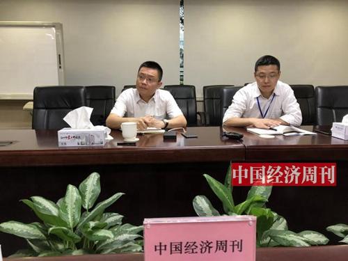 格力电器相关负责人接受采访《澳客彩票平台APP》见习记者 郭志强 摄_副本