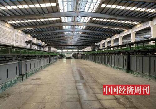 30 江西贛州稀土集團一萃取車間。(《中國經濟周刊》記者 李永華 攝)