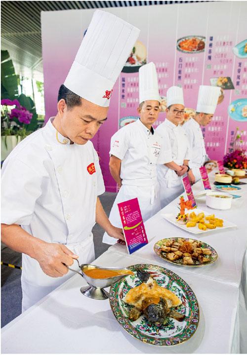 p63-1  一席品千年:十大美食展示  廣州日報全媒體圖片記者莊小龍I 攝